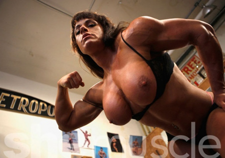 big tinah bodybuilder