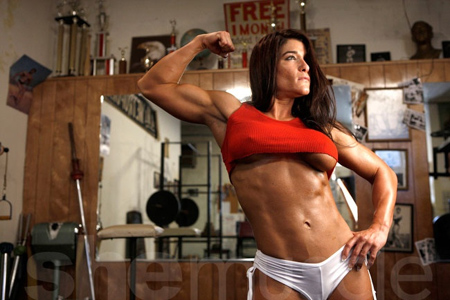girls with muscles