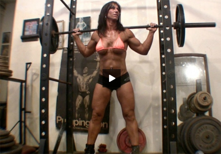 hot italian muscle girl