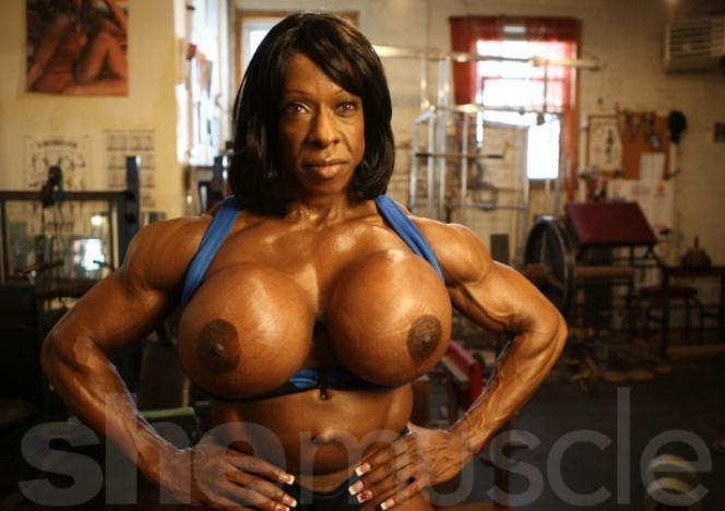 bodybuilding black females naked